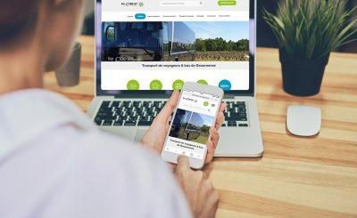 site-internet-responsive Le Coeur bus et cars