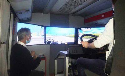Le Coeur bus et cars formation-réunir-cassiopée-chauffeur-conducteur-autocar-rolland-bus-et-cars-finistère-simulateur-de-conduite-prévention-des-risques